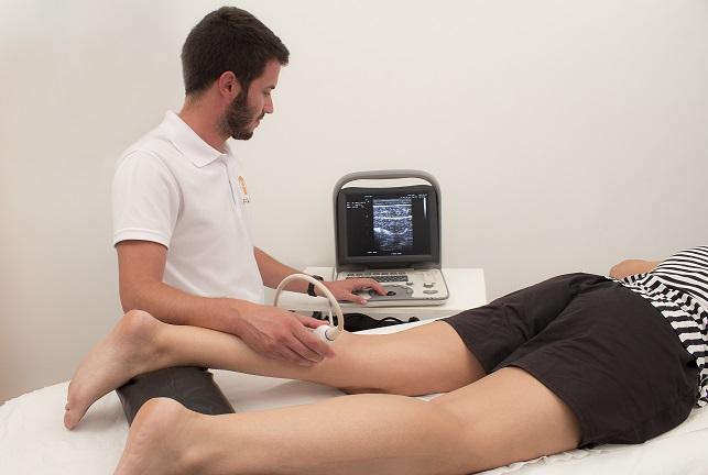 Ecografias musculares para lesiones y deportistas
